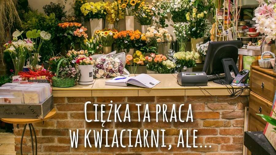 praca w kwiaciarni